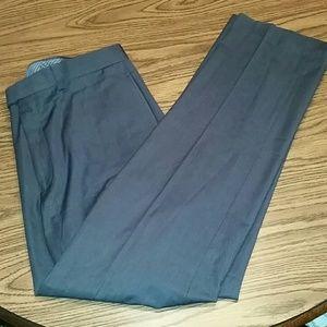 Calvin klein dress pants, 34x32, charcoal grey